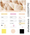 light pink  yellow vector...