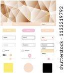 light pink  yellow vector...