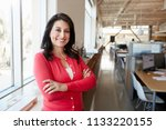 female hispanic architect... | Shutterstock . vector #1133220155