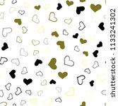 light green  yellow vector... | Shutterstock .eps vector #1133241302