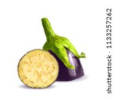 fresh  nutritious  tasty... | Shutterstock .eps vector #1133257262