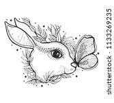 sketch graphic illustration... | Shutterstock .eps vector #1133269235