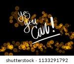 motivational phrases written by ... | Shutterstock . vector #1133291792