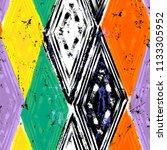 seamless geometric pattern...   Shutterstock .eps vector #1133305952