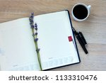 outdoor leather notepad ... | Shutterstock . vector #1133310476