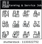 character of farming and... | Shutterstock .eps vector #1133322752