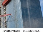 construction and winch | Shutterstock . vector #1133328266