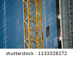 construction and winch | Shutterstock . vector #1133328272