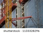 construction and winch | Shutterstock . vector #1133328296