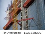 construction and winch | Shutterstock . vector #1133328302