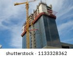 construction and winch | Shutterstock . vector #1133328362