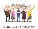 vector cartoon illustration of... | Shutterstock .eps vector #1133363942