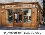 paris  france  october 6  2016  ... | Shutterstock . vector #1133367392