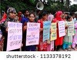 dhaka  bangladesh july 13  2018 ...   Shutterstock . vector #1133378192