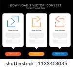 business infographic template...   Shutterstock .eps vector #1133403035