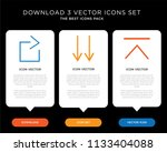 business infographic template... | Shutterstock .eps vector #1133404088