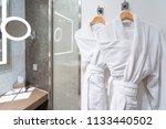 bubble bath time   clean white... | Shutterstock . vector #1133440502