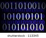 binary   abstract | Shutterstock . vector #113345