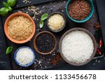 variety of types and colours of ... | Shutterstock . vector #1133456678
