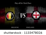 play off for third place  ...   Shutterstock .eps vector #1133478026