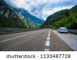 longarone  italy   july  12 ... | Shutterstock . vector #1133487728