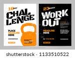 vector layout design template... | Shutterstock .eps vector #1133510522
