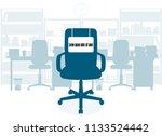 oncept of employment. empty... | Shutterstock .eps vector #1133524442