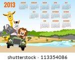 Calendar 2013 With Animals  ...