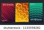 creative halftone cover... | Shutterstock .eps vector #1133558282