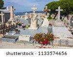 nice  france   june 23  2018 ... | Shutterstock . vector #1133574656