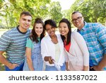 people  friendship and...   Shutterstock . vector #1133587022