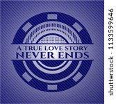 a true love story never ends... | Shutterstock .eps vector #1133599646