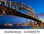 this image shows the sydney... | Shutterstock . vector #113360275