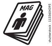 icon pictogram  magazine ...   Shutterstock .eps vector #1133604395