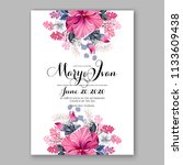 Floral Wedding Invitation...