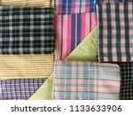 traditional fabrics local hand...   Shutterstock . vector #1133633906