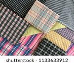 traditional fabrics local hand...   Shutterstock . vector #1133633912