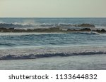 waver in pacific ocean in... | Shutterstock . vector #1133644832