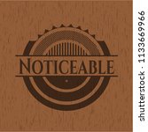 noticeable retro style wood... | Shutterstock .eps vector #1133669966