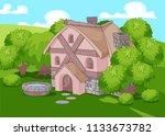 illustration of cute little... | Shutterstock .eps vector #1133673782