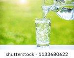 image of water | Shutterstock . vector #1133680622