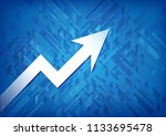 business graph icon isolated on ...   Shutterstock . vector #1133695478
