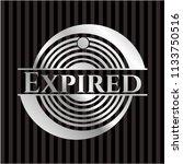 expired silver badge | Shutterstock .eps vector #1133750516