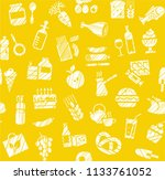 food and drinks  production and ... | Shutterstock .eps vector #1133761052