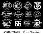 vintage varsity vector graphics....   Shutterstock .eps vector #1133787662
