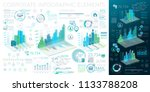 corporate infographic elements | Shutterstock .eps vector #1133788208