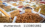 syracuse  sicily  italy. detail ... | Shutterstock . vector #1133801882