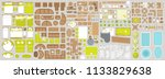 icons set of interior.... | Shutterstock .eps vector #1133829638