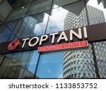 tirana  albania   june 30  2018 ... | Shutterstock . vector #1133853752