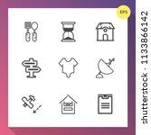 modern  simple vector icon set...   Shutterstock .eps vector #1133866142
